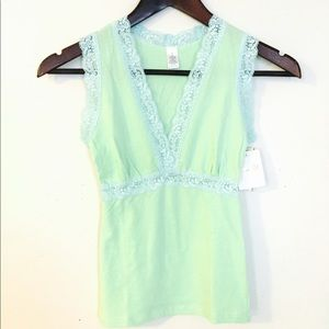 Cotton & Lace Cami -- MUST BE BUNDLED
